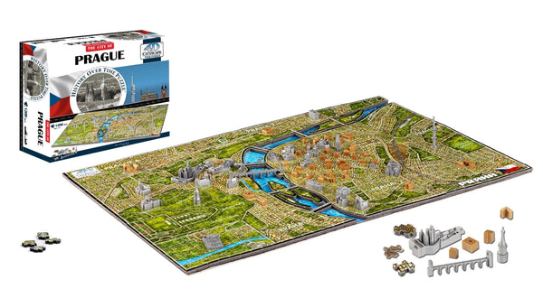 4D Cityscape Prague Time Puzzle - 4DPuzz - 4DPuzz