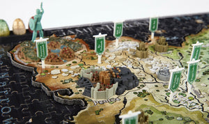 4D Game of Thrones Essos Puzzle - 4DPuzz - 4DPuzz