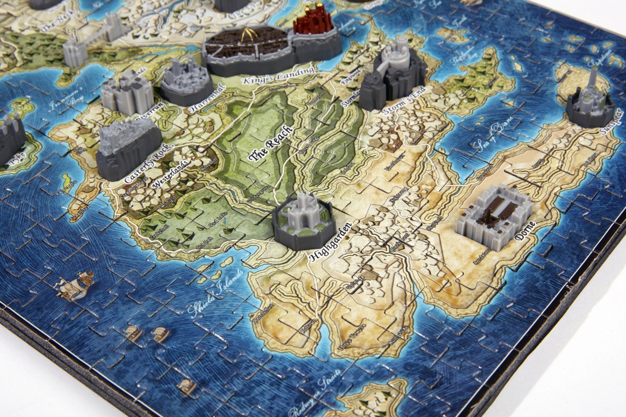 "4D Game of Thrones "" Mini"" Westeros Puzzle - 4DPuzz - 4DPuzz"