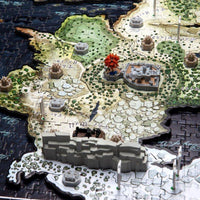 4D Game of Thrones Westeros Puzzle - 4DPuzz - 4DPuzz