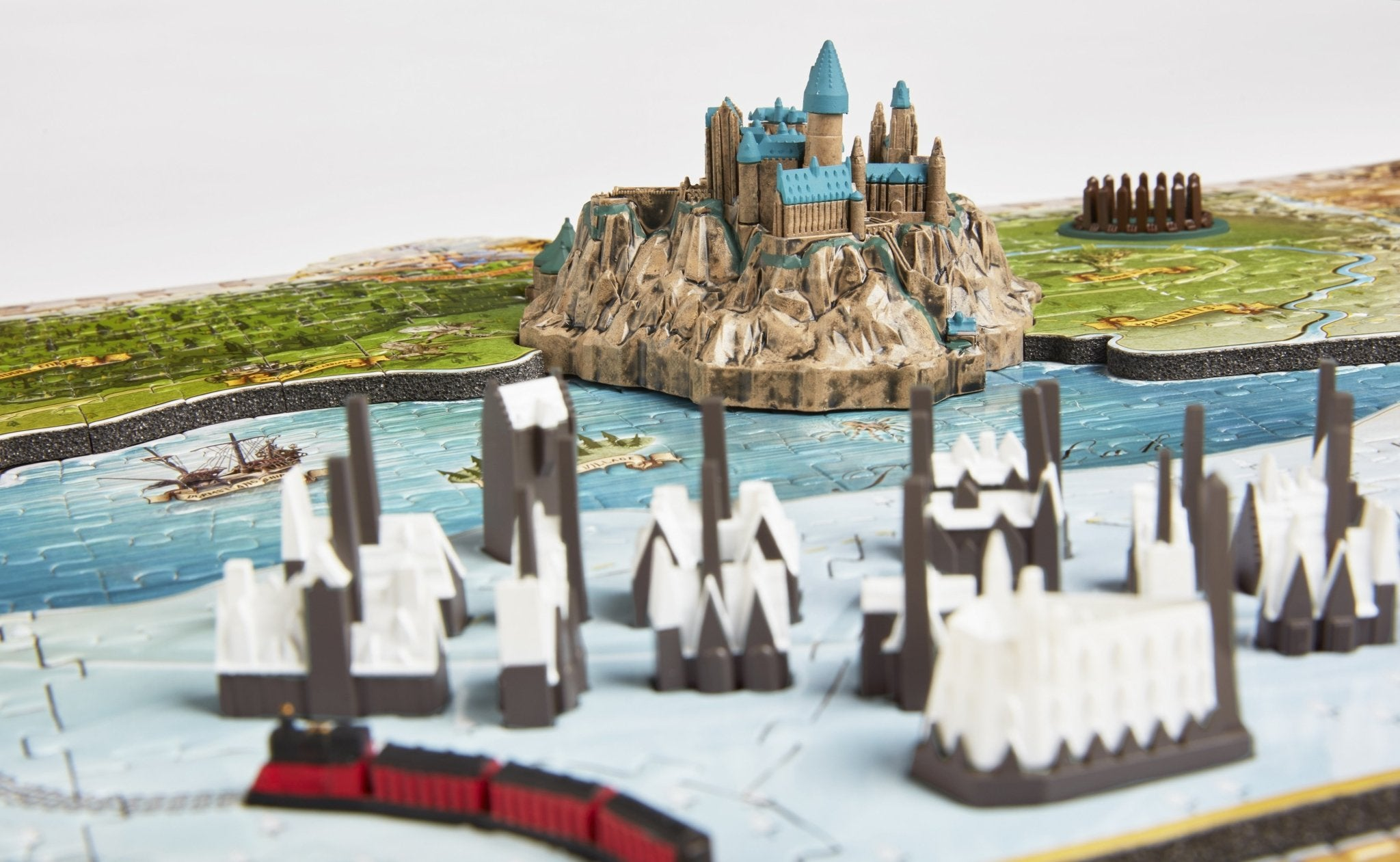 4D Harry Potter Wizarding World of Hogwarts and Hogsmead (892+ PCS) - 4DPuzz - 4DPuzz