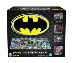 4D Mini Batman Gotham City Puzzle (839 pcs) - 4DPuzz - 4DPuzz