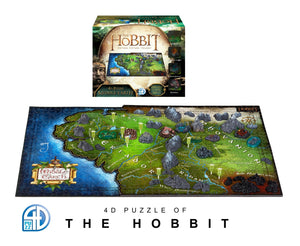 4D The Hobbit Puzzle - 4DPuzz - 4DPuzz