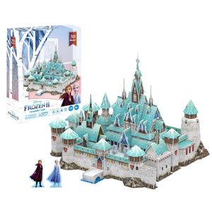 Frozen Arendelle Castle Model Kit - 4D Puzzle | 4D Cityscape | Collectible Puzzles - 4DPuzz