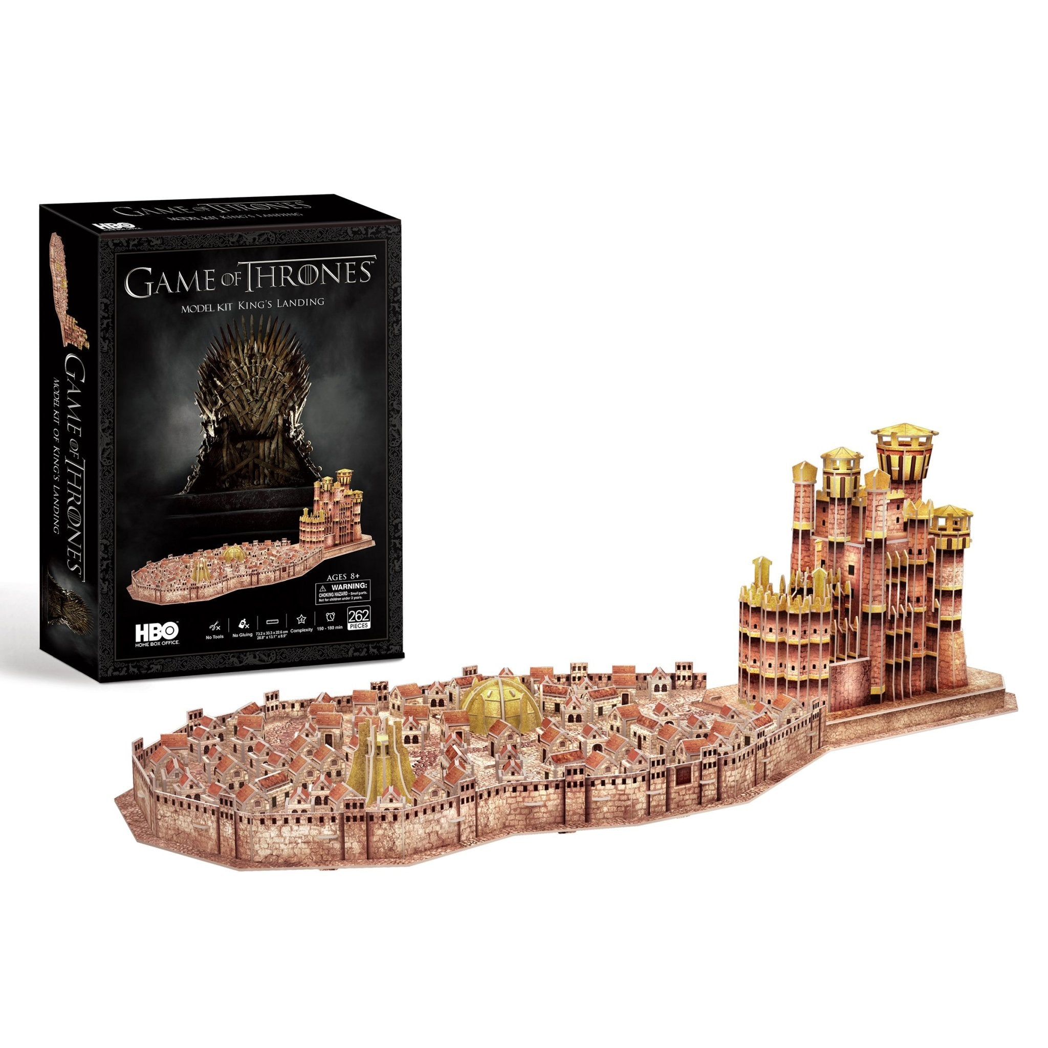Game of Thrones Kings Landing Model Kit - 4D Puzzle | 4D Cityscape | Collectible Puzzles - 4DPuzz