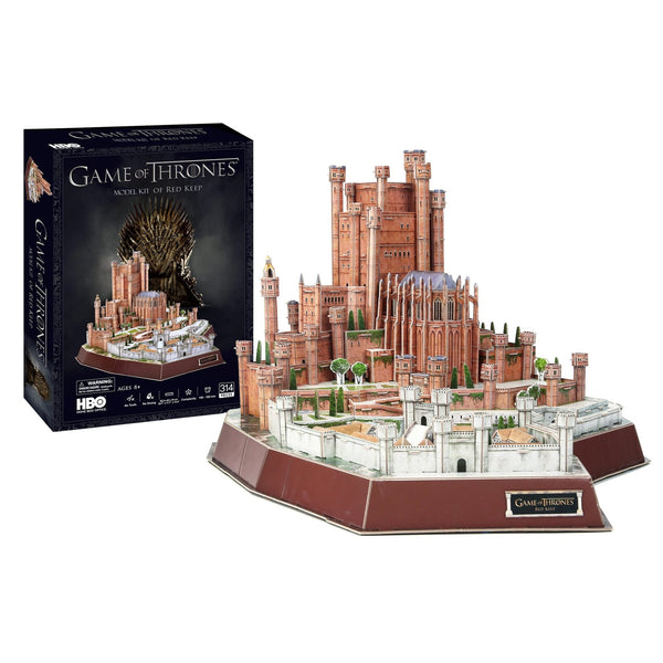 Game of Thrones Red Keep Model Kit - 4D Puzzle | 4D Cityscape | Collectible Puzzles - 4DPuzz