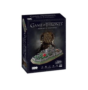 Game of Thrones Winterfell Model Kit - 4D Puzzle | 4D Cityscape | Collectible Puzzles - 4DPuzz