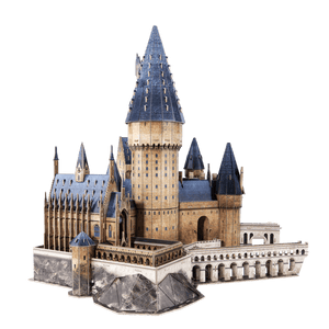 Harry Potter Great Hall Paper Model Kit - 4D Puzzle | 4D Cityscape - 4DPuzz