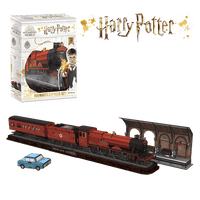 Harry Potter Hogwarts Express Model Kit - 4D Puzzle | 4D Cityscape - 4DPuzz