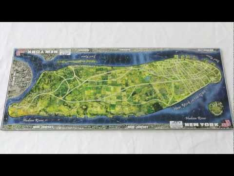 4D Cityscape NEW YORK Time Puzzle