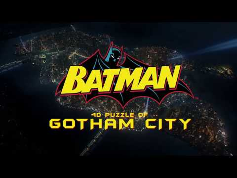 4D Batman Gotham City Puzzle
