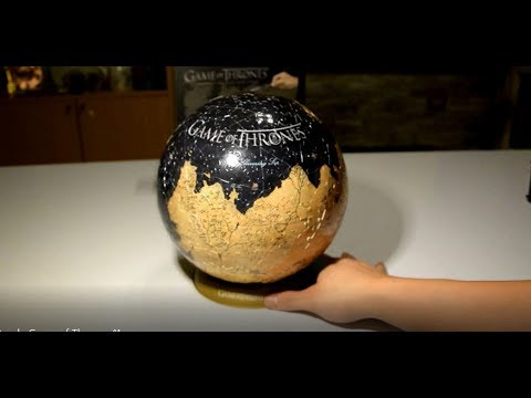 3D Game of Thrones World Globe Puzzle 9""