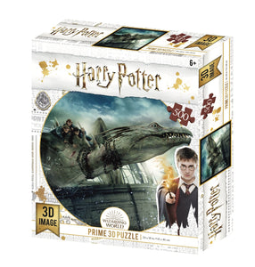 Lenticular 3D Puzzle: Harry Potter Dragon - 4DPuzz - 4DPuzz