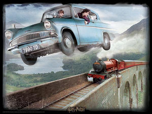 Lenticular 3D Puzzle: Harry Potter Ford Anglia - 4DPuzz - 4DPuzz