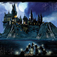 Lenticular 3D Puzzle: Harry Potter Hogwarts at Night - 4DPuzz - 4DPuzz
