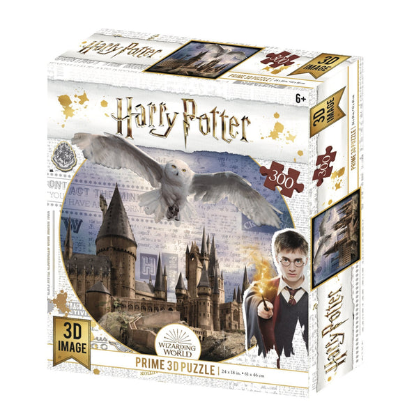 Lenticular 3D Puzzle: Harry Potter Hogwarts Daytime - 4DPuzz - 4DPuzz