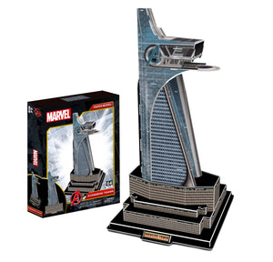Marvel Avengers Tower Model Kit - 4D Puzzle | 4D Cityscape | Collectible Puzzles - 4DPuzz