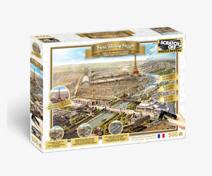 Scratch OFF History Puzzle : Paris - 4DPuzz - 4DPuzz
