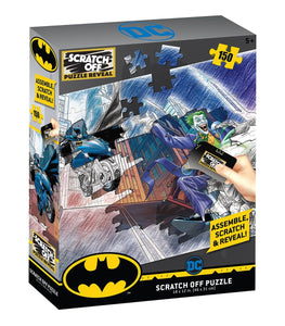 Scratch OFF Puzzle Batman 150 PCS - 4DPuzz - 4DPuzz