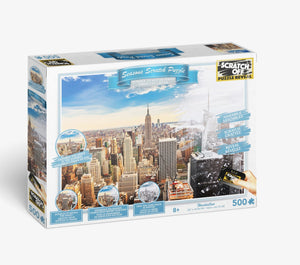 Scratch OFF Seasons Puzzle: Manhattan - 4DPuzz - 4DPuzz