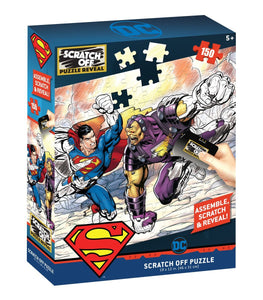 Scratch OFF Superman 150 PCS - 4DPuzz - 4DPuzz