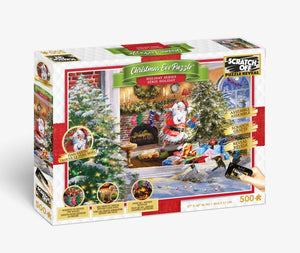 Scratch OFF The Eve Before Christmas Puzzle - 4DPuzz - 4DPuzz