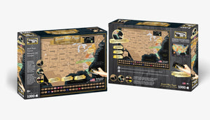 Scratch OFF Travel Puzzle : USA - 4DPuzz - 4DPuzz