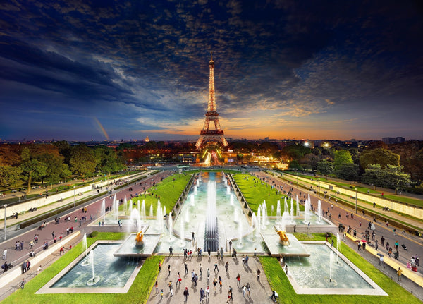 Stephen Wilkes Eiffel Tower, Paris, Day to Night™ - 4D Puzzle | 4D Cityscape - 4DPuzz