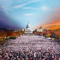 Stephen Wilkes Inauguration, Washington DC, Day to Night™ - 4D Puzzle | 4D Cityscape - 4DPuzz