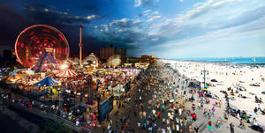 Stephen Wilkes Puzzle Coney Island, Day to Night™ - 4DPuzz - 4DPuzz