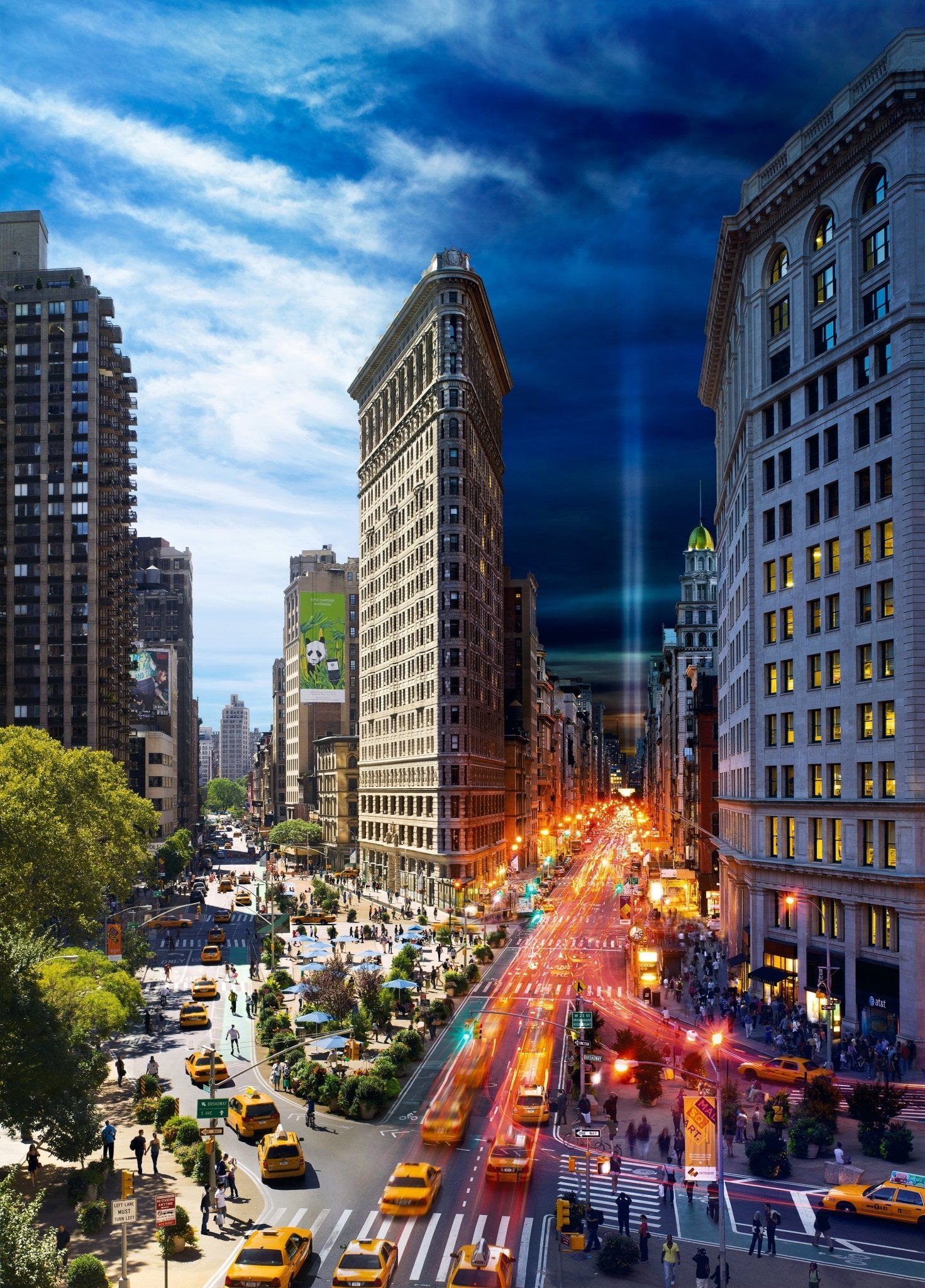 Stephen Wilkes Puzzle Flatiron, NYC, Day to Night™ - 4DPuzz - 4DPuzz