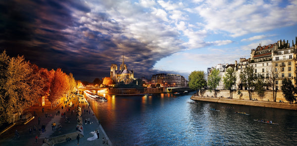 Stephen Wilkes Puzzle Pont de la Tournelle, Paris, Day to Night™ - 4DPuzz - 4DPuzz