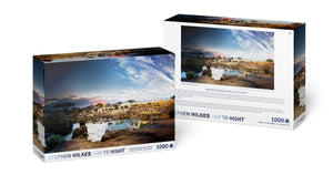 Stephen Wilkes Puzzle Serengeti National Park, Day to Night ™ - 4DPuzz - 4DPuzz