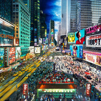 Stephen Wilkes Puzzle Times Square, New York, Day to Night™ - 4D Puzzle | 4D Cityscape - 4DPuzz