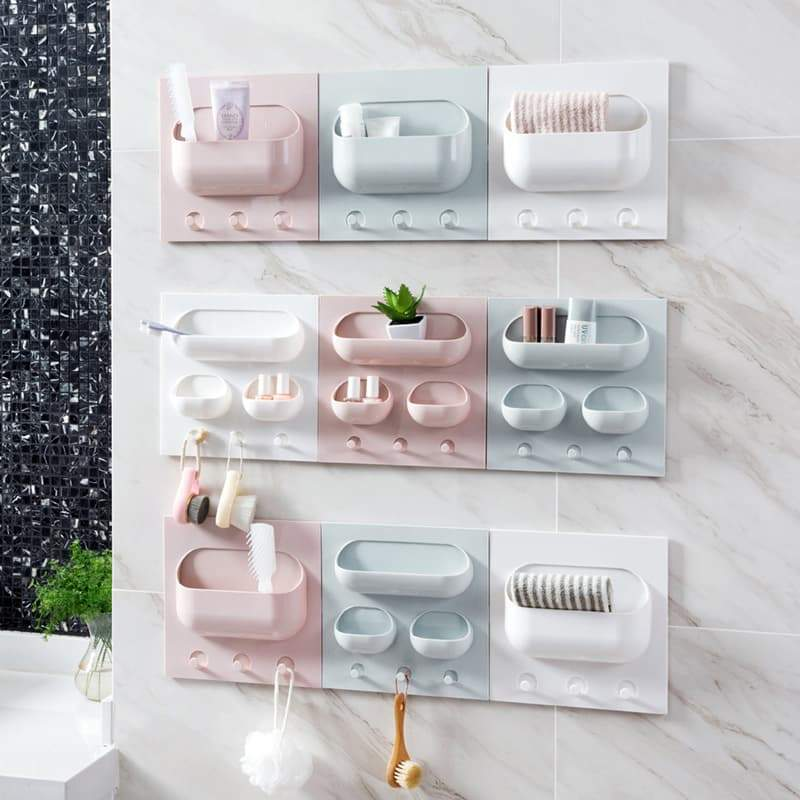 Wall-Mounted DIY Paste Storage