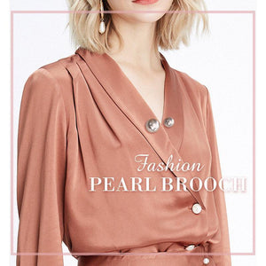 (64% OFF Flash Sale)Fashion Pearl Brooch