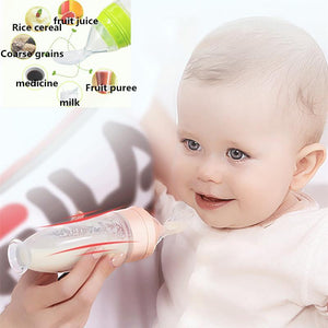 Baby Silicone Rice Paste Bottle