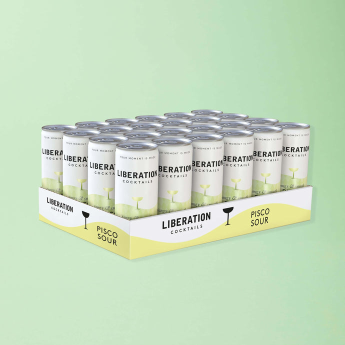 Pisco Sour 24 x 200ml cans