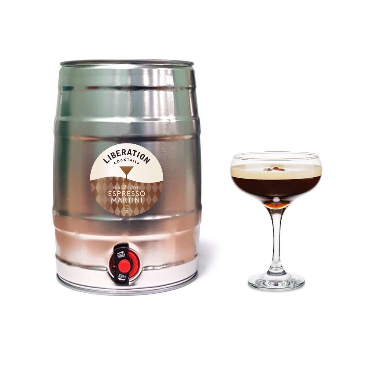 Espresso Martini 5L Party Keg
