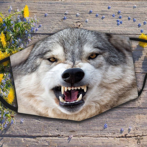 Wolf Face Mask 5