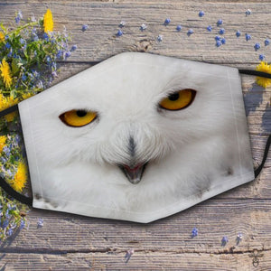 Owl Face Mask 3