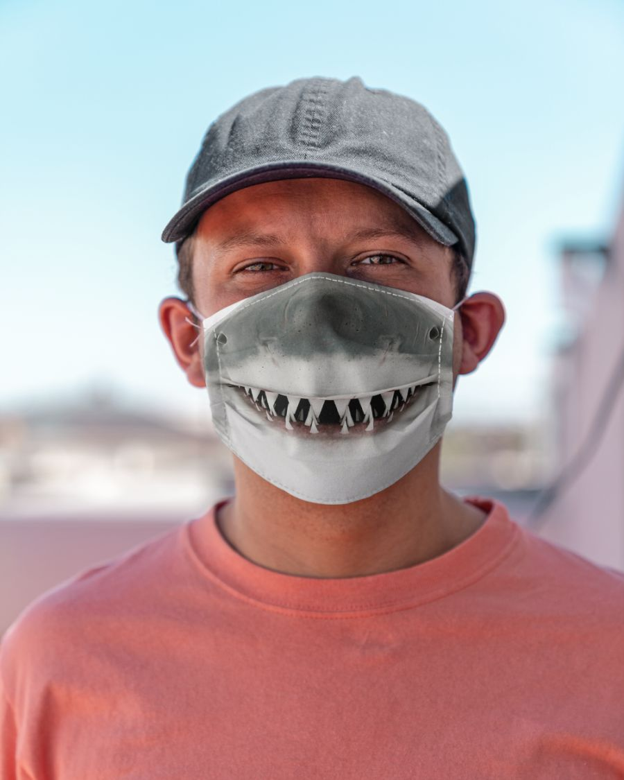 Shark Face Mask - 1