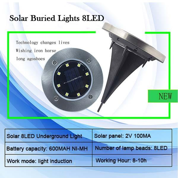 [Sale] LED Solar Powered Underground Light