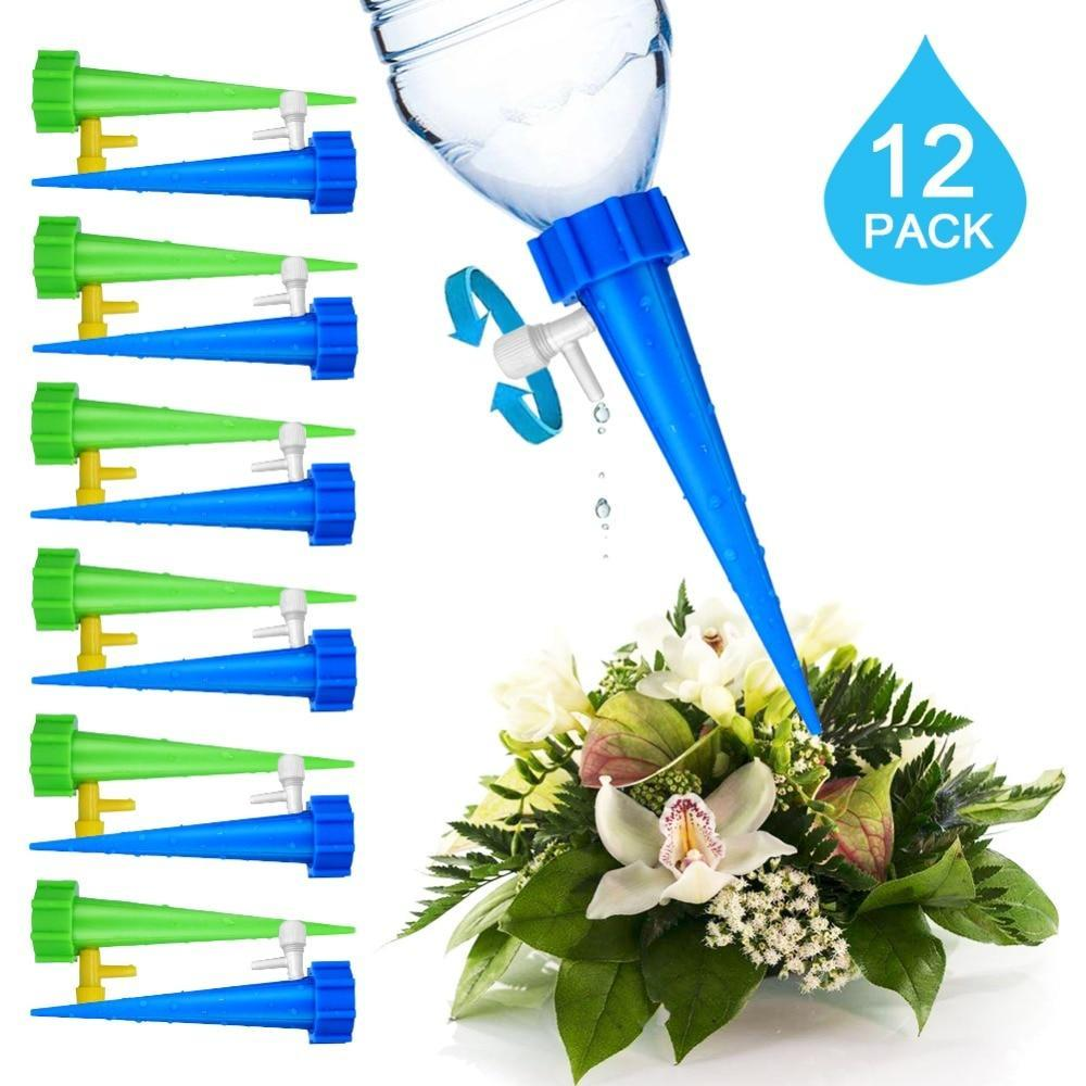 12pcs/set Plant Watering Spikes
