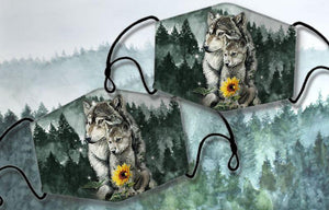 THE WOLF Cloth masks