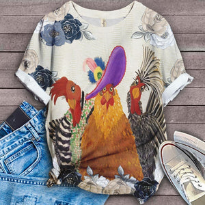 Perfect T-shirt For Farm Lovers - Chicken 13