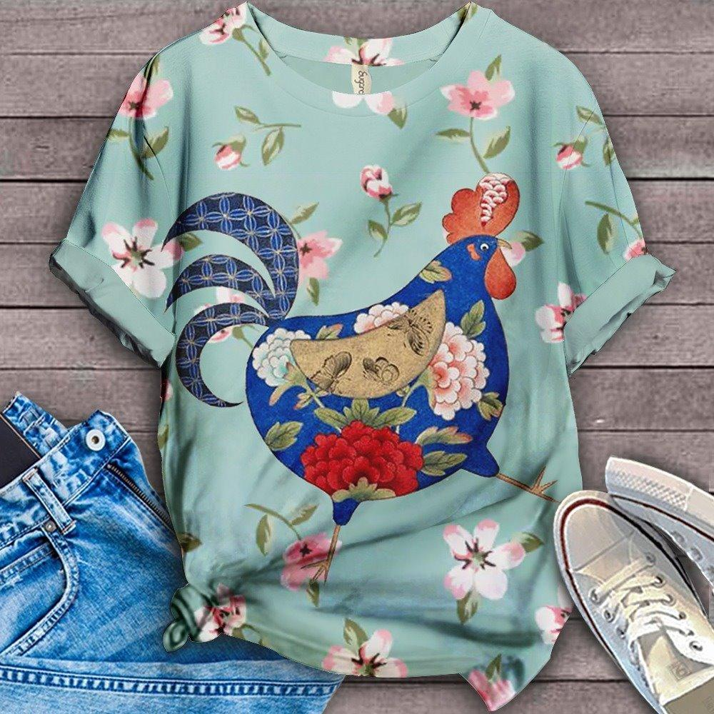 Perfect T-shirt For Farm Lovers - Chicken 10