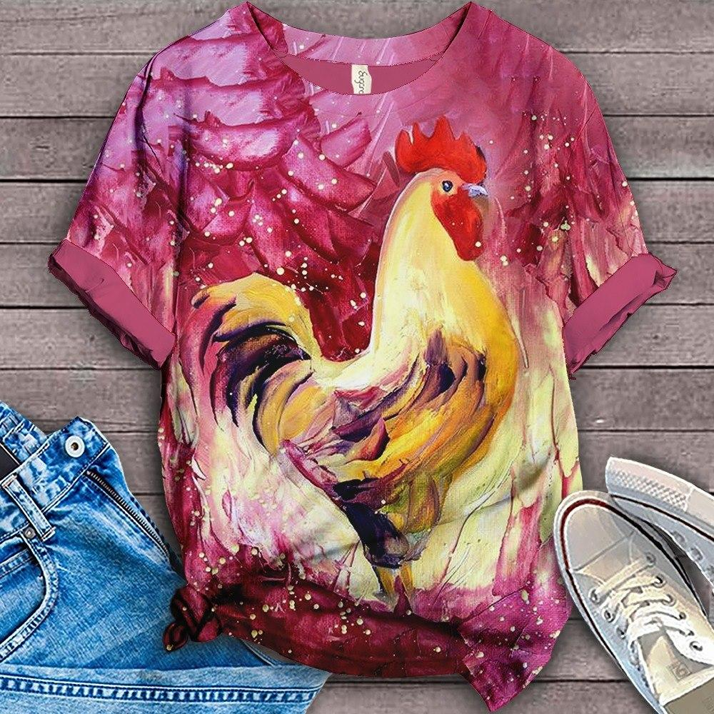 Perfect T-shirt For Farm Lovers - Chicken 3