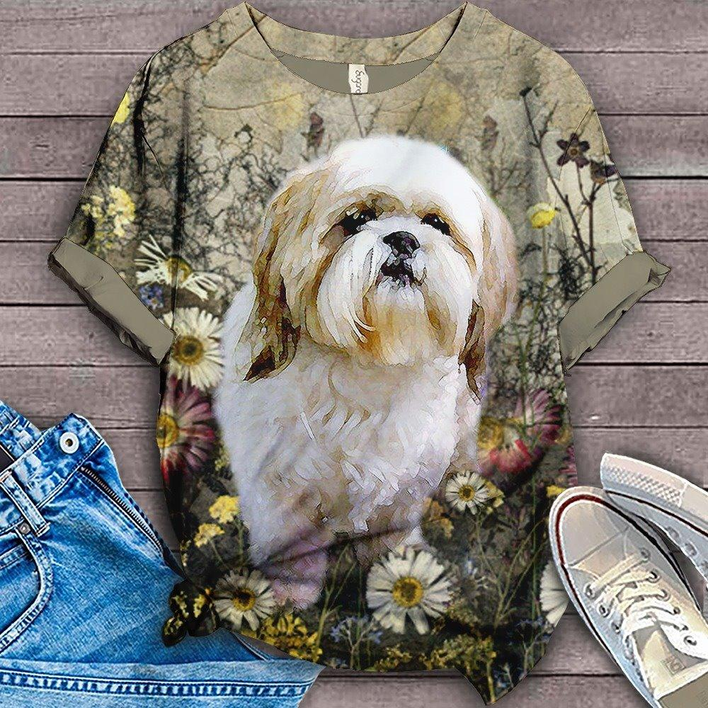 PERFECT T SHIRT FOR SHIH TZU LOVERS