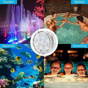 [Sale] Waterproof LED Lights Wireless Control Underwater Battery Operated